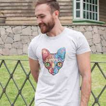 Load image into Gallery viewer, Artistic Cat #4 Adult Tee