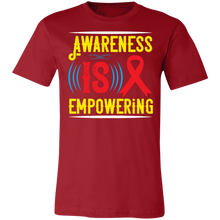 Load image into Gallery viewer, Awareness is Empowering #2 Adult Tee