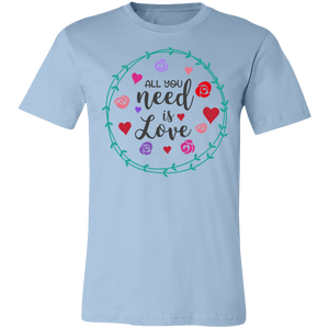 All You Need is Love #4 Adult Tee