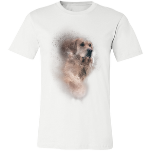 Artistic Dog #6 Adult Tee