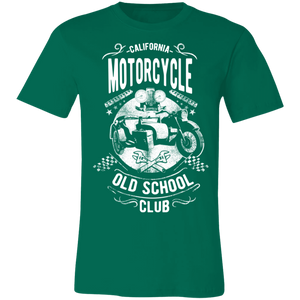 California Old School Club Adult Tee