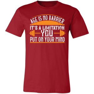 Age is No Barrier #1 Adult Tee