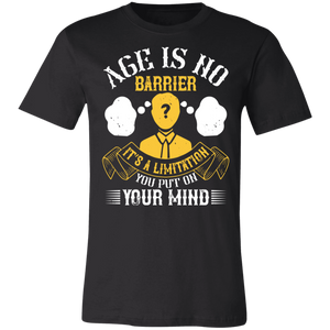 Age is No Barrier #2 Adult Tee