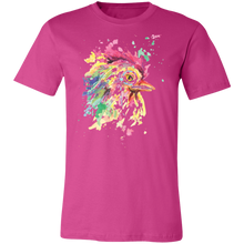 Load image into Gallery viewer, Artistic Rooster #3 Adult Tee