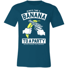 Load image into Gallery viewer, Always Take a Banana to the Party Adult Tee