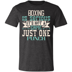 Boxing is Serious Adult Tee