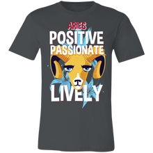 Load image into Gallery viewer, Aries Positive Passionate Lively Adult Tee
