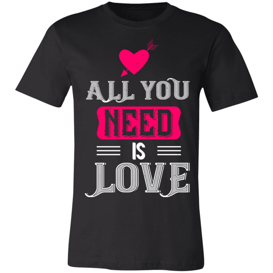 All You Need is Love #3 Adult Tee