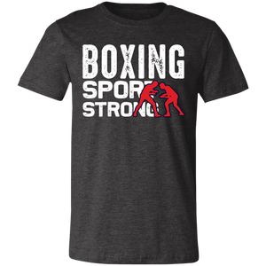 Boxing Sport Strong Adult Tee