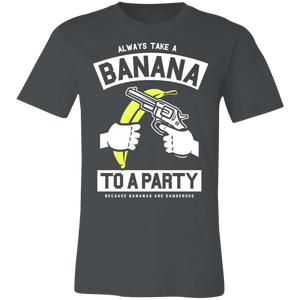Always Take a Banana to the Party Adult Tee