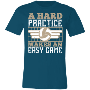 A Hard Practice Makes an Easy Game Adult Tee