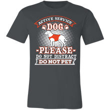 Load image into Gallery viewer, Active Service Dog Adult Tee