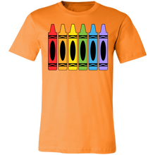 Load image into Gallery viewer, Crayons Adult Tee