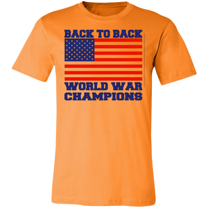 Back To Back World War Champions Adult Tee