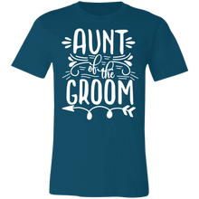 Load image into Gallery viewer, Aunt of the Groom Adult Tee