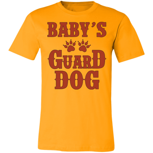 Baby's Guard Dog Adult Tee