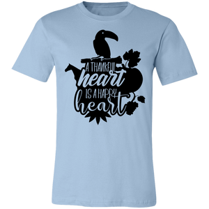 A Thankful Heart is a Happy Heart #4 Adult Tee