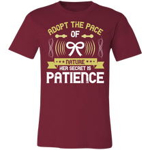 Load image into Gallery viewer, Adopt the Pace of Nature Adult Tee