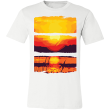 Load image into Gallery viewer, Artistic Sunset Scene Adult Tee