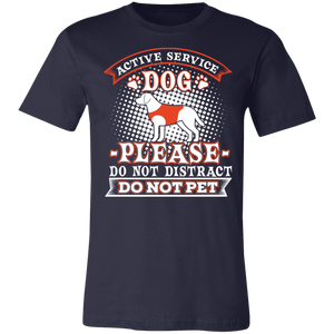 Active Service Dog Adult Tee