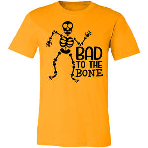 Bad To The Bone Adult Tee