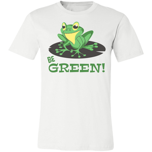 Be Green Adult Tee