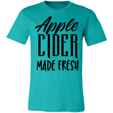 Load image into Gallery viewer, Apple Cider Made Fresh #1 Adult Tee