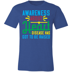 Awareness About Heart Disease Adult Tee