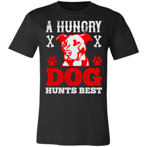 A Hungry Dog Hunts Best Adult Tee