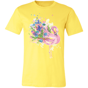 Artistic Flamingo #6 Adult Tee