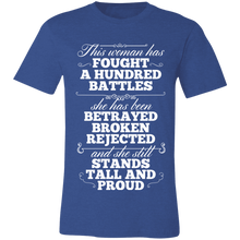 Load image into Gallery viewer, Betrayed Broken Rejected Adult Tee
