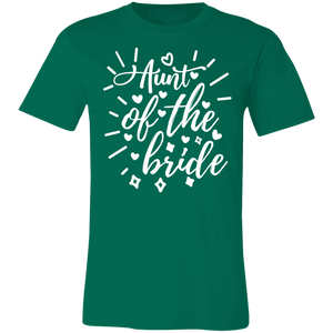 Aunt of the Bride Adult Tee
