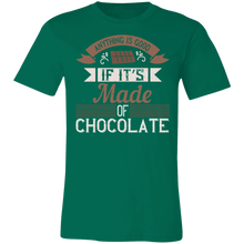 Load image into Gallery viewer, Anything is Good if it's Made of Chocolate Adult Tee