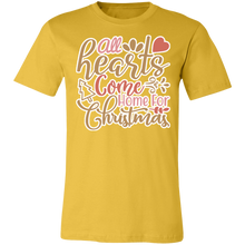 Load image into Gallery viewer, All Hearts Come Home for Christmas #3 Adult Tee