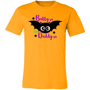 Batty For Daddy Adult Tee