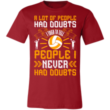 Load image into Gallery viewer, A lot of People Had Doubts Adult Tee