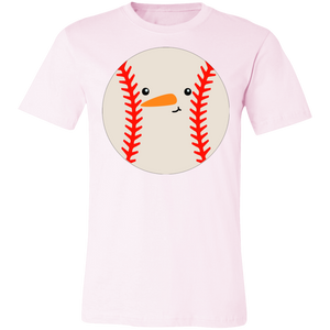 Baseball Snowball #1 Adult Tee