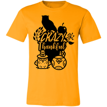 Load image into Gallery viewer, Crazy Thankful #2 Adult Tee