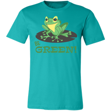 Load image into Gallery viewer, Be Green Adult Tee