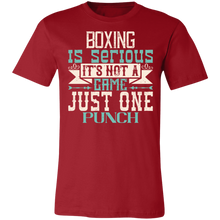 Load image into Gallery viewer, Boxing is Serious Adult Tee