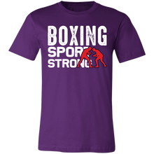 Load image into Gallery viewer, Boxing Sport Strong Adult Tee