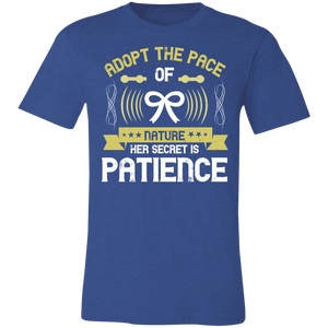 Adopt the Pace of Nature Adult Tee