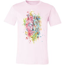 Load image into Gallery viewer, Artistic Wolf #2 Adult Tee