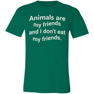 Animals are My Friends Adult Tee