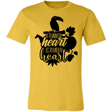 Load image into Gallery viewer, A Thankful Heart is a Happy Heart #4 Adult Tee
