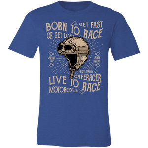 Born To Race Adult Tee