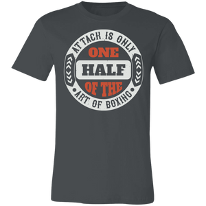 Attack is Only One Half of #1 Adult Tee