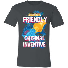 Load image into Gallery viewer, Aquarius Friendly Original Inventive Adult Tee