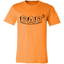 Load image into Gallery viewer, Dad 3rd Power #1 Adult Tee