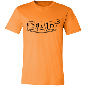 Dad 3rd Power #1 Adult Tee